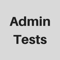 Icon AdminTests